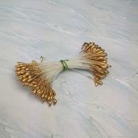Тычинки для цветов (золотые) 50шт