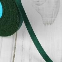 Атласная лента 6мм (темно-зеленая) 23м