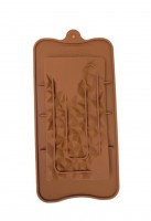 """Форма для шоколада силикон """"Плитка скалы"""" 21х10,5 см"""