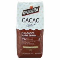 """Какао/порошок алкализованный """"Warm brown"""" 22-24% """"VanHouten"""""""
