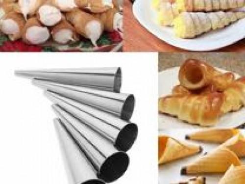 Набор форм для круассанов и трубочек 15*3,8 см 5 шт