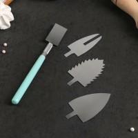 Набор инструментов для украшения (держатель, 4 насадки)