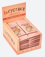 """Пастилки """"ТеГустики"""" персик 30 гр"""