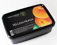 """Пюре замороженное """"Fresh Harvest"""" (персик желтый) 1 кг"""
