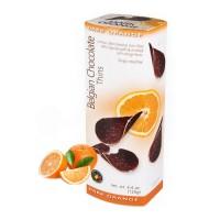 """Шоколадные чипсы """"Belgian Chocolate"""" апельсин (80 гр)"""