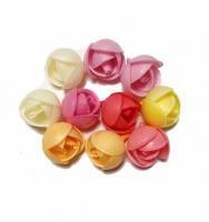 Вафельные цветы пионы 2,4см 5шт