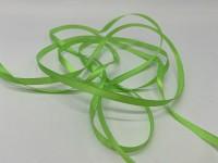 Атласная лента 6 мм (светло-зеленая) 23 м