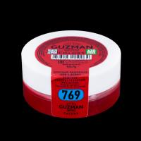 """Краситель сухой """"Guzman"""" водорастворимый красный вишневый 10 гр"""