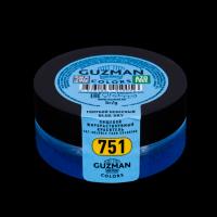 """Краситель сухой """"Guzman"""" жирорастворимый голубой небесный 5 гр"""