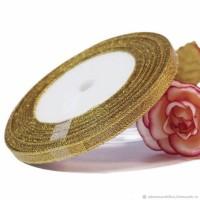 Лента парчовая (золото) 0,6 мм
