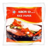 """Бумага рисовая круглая """"AROY-D"""" 22 см (50шт)"""