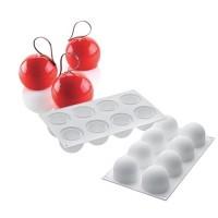 "Форма для выпечки силикон SilikoMart ""Трюфель 120"" 8ячеек 6,5х5,5 см"