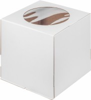 Коробка 280/280/300мм (окно) Гофрокартон