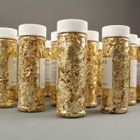 Пищевое золото (хлопья 5-20мм) 15 гр