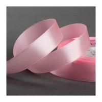 Атласная лента 20мм (розовая) 23м