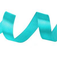 Атласная лента 20мм (голубая) 23м