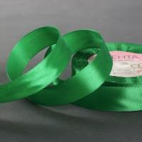 Атласная лента 20мм (зеленая) 23м