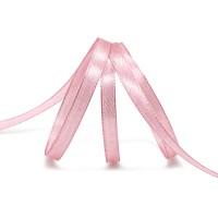Атласная лента 6мм (пепельно-розовая) 23м