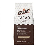 "Какао порошок алкализованный Rich deep brown ""Van Houten""52-56% (1 кг)"