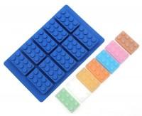 """Форма для шоколада и льда силикон """"Лего"""" 10 ячеек 5*2,5 см"""