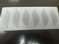 """Коврик для шоколада """"Листва"""" 22,5/9 см"""