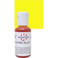 """Краситель гелевый """"AmeriColor"""" желтый электрик (21 мл)"""