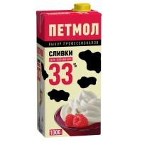 """Сливки """"Петмол"""" 33% (1 л)"""