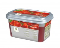 """Пюре замороженное """"Ravifruit"""" (клубника) 1 кг"""