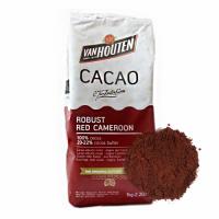 "Какао порошок алкализованный  Robust red Cameroon ""VanHouten"" 20-22% (1 кг)"