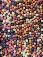 Посыпка Драже из глазури Микс № 124 (жемчуг персик, розовый, серебро, сирен.) 100 г
