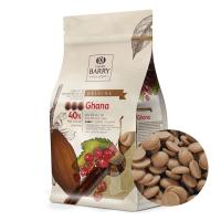 """Шоколад молочный """"Cacao Barry"""" Ghana 40,5% (1 кг)"""