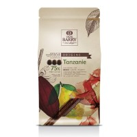 "Шоколад темный ""Cacao Barry"" Tanzanie 75% (1 кг)"