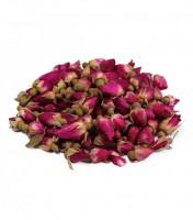 """Сушеные цветы """"Розы-бутоны"""" розовые 50 гр"""