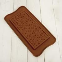 "Форма для шоколада силикон ""Плитка кофе"" 16х7,5 см"