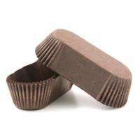 Тарталетка для эклеров 28/110/26мм (коричневая) 50шт