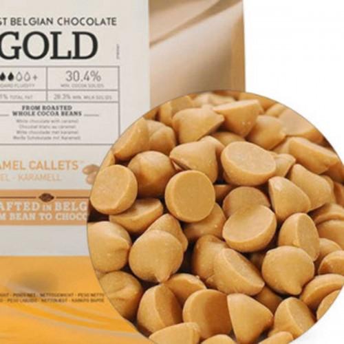 "Шоколад ""Callebaut"" Gold со вкусом карамели (400 гр)"