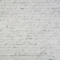 "Фотофон переплетный картон ""Белые кирпичи"" 45х45 см"