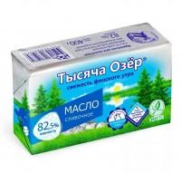 "Масло Сливочное ""Тысяча озер"" 82,5% 400 гр"