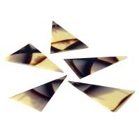Шоколад треугольной формы (мраморный) 10шт