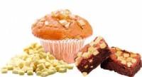 """Шоколадные кусочки """"Barry Callebaut"""" термостабильные белые (250 гр)"""