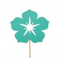 Топпер Цветок (мятный)