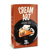 """Сливки """"Creamart"""" пломбир 26% 1 л"""
