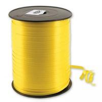 Лента декоративная 0,5 см (желтая) 500 м