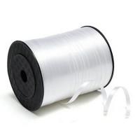 Лента декоративная 0,5 см (белая) 500 м