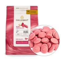 """Шоколад """"Barry Callebaut"""" рубиновый 47,3%  (2.5 кг)"""