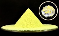 Сахарная пудра нетающая (Бархатная желтая) 100 гр