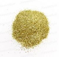 Блестки светло-золотые 10 гр