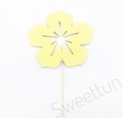 Топпер Цветок (желтый)