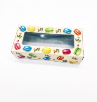 Коробка с окном (цветная) 210х100х50 мм