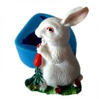 Молд заяц с морковью